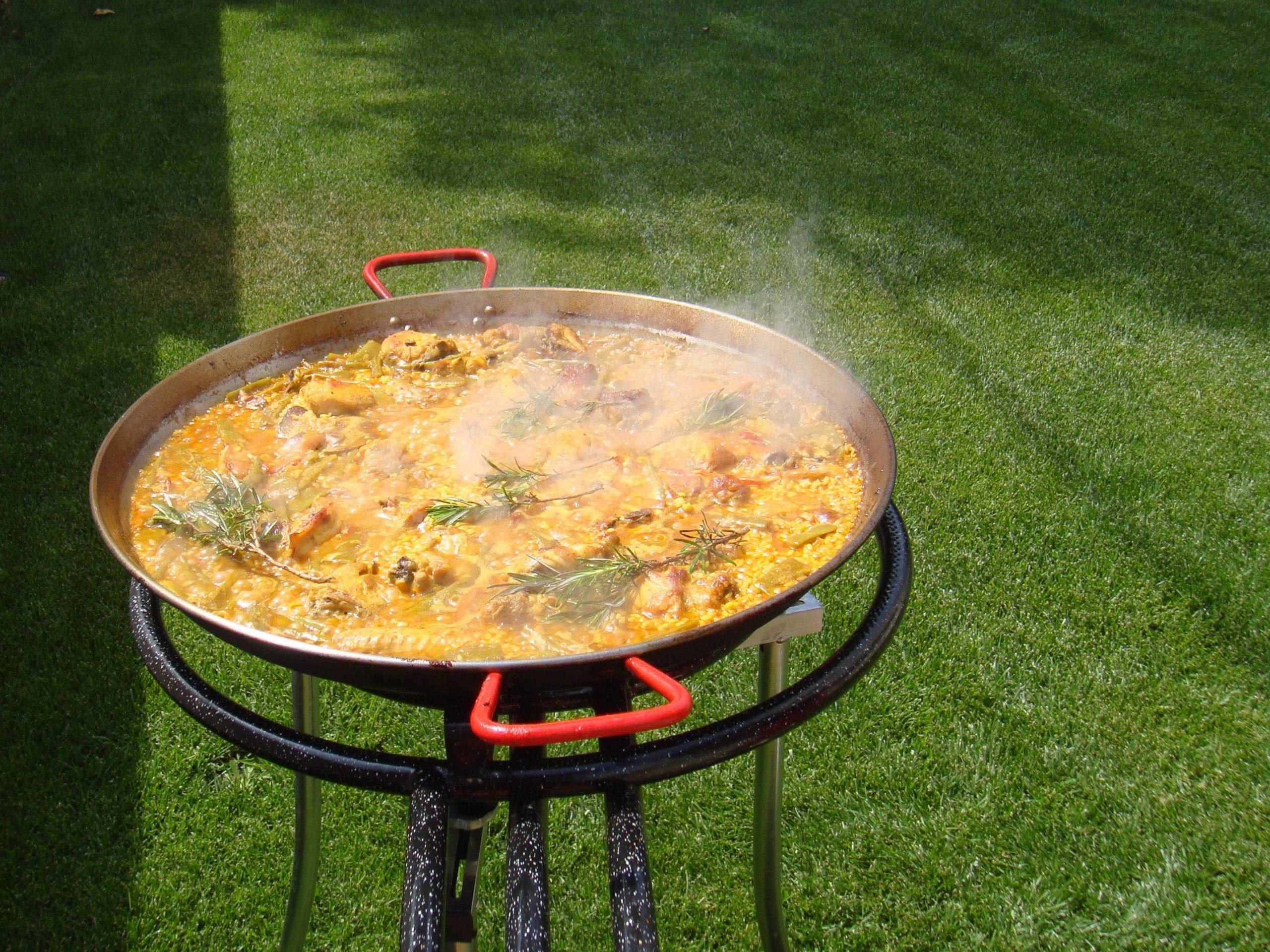 Arroz con pollo a la valenciana